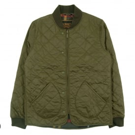 Windrow Quilt Jacket Olive