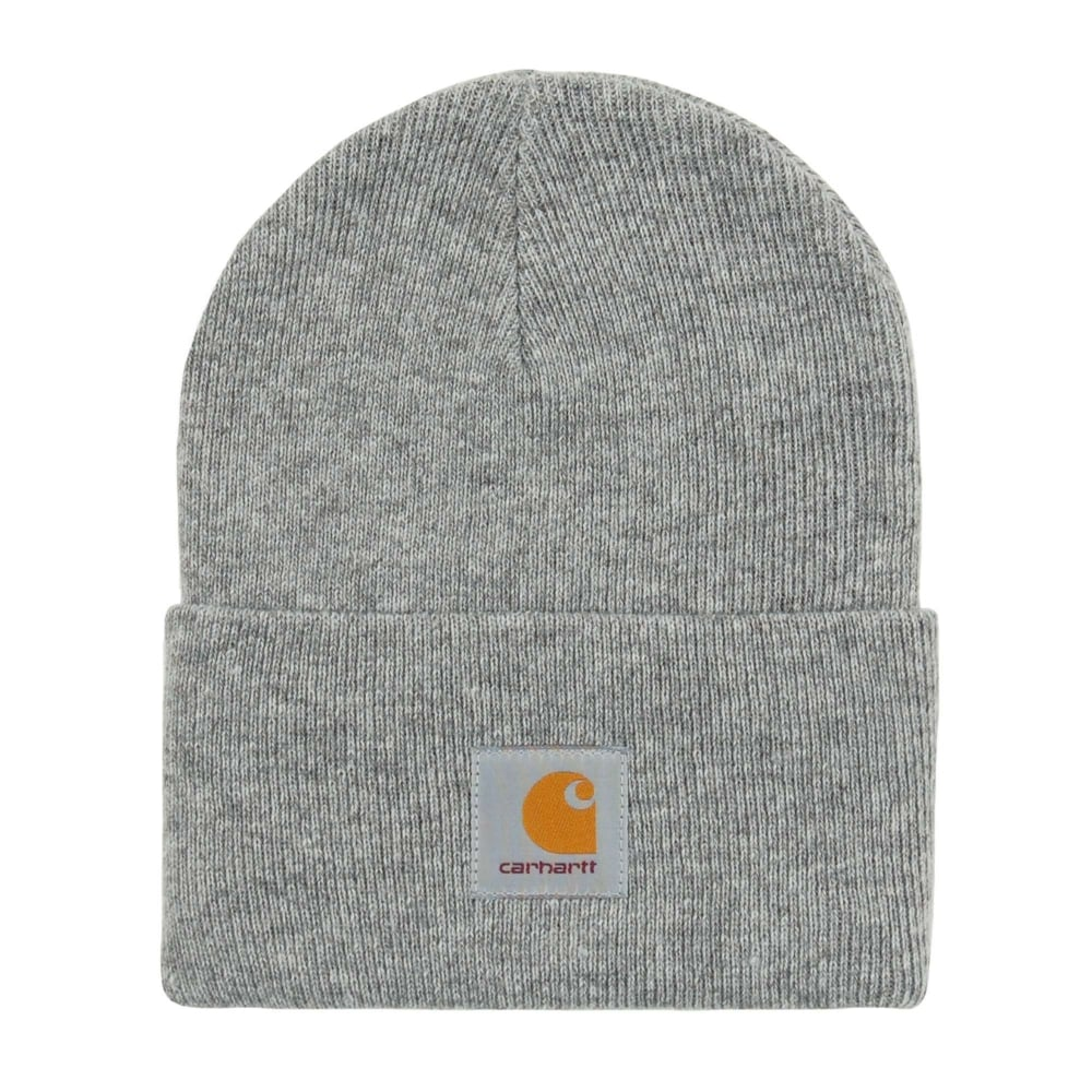 b16715a5149 Carhartt Acrylic Watch Hat Heather Grey - Mens Clothing from Attic ...