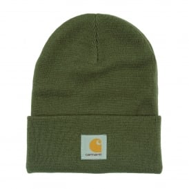 Acrylic Watch Hat Rover Green