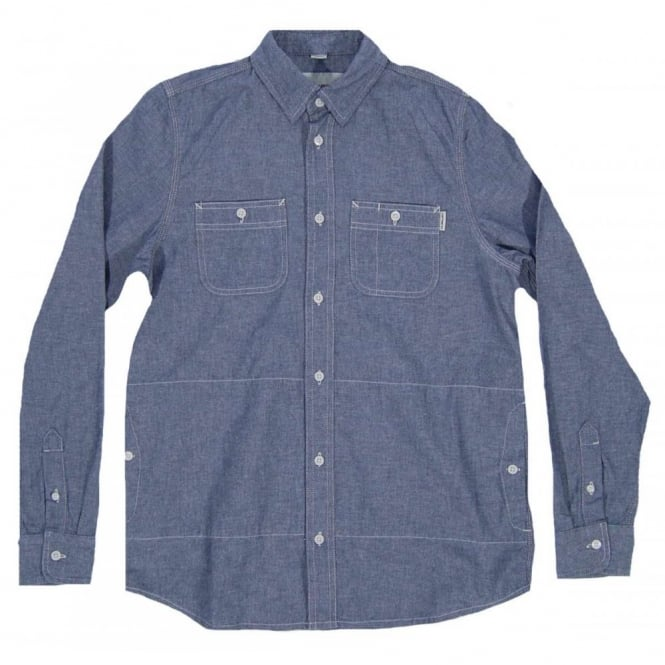 Carhartt Alex Chambray Shirt Duke Blue