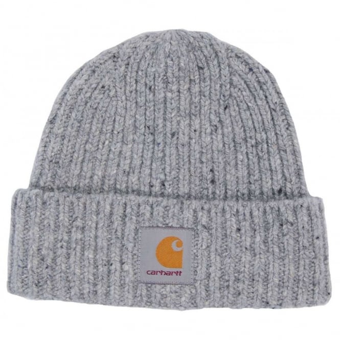 Carhartt Anglistic Beanie Grey Heather - Mens Clothing from Attic ... 114e6f0da0d