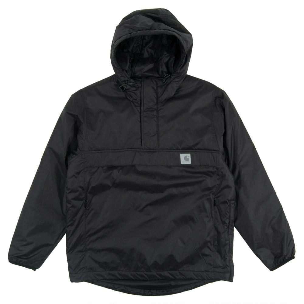 carhartt beta pullover jacket black mens clothing from attic clothing uk. Black Bedroom Furniture Sets. Home Design Ideas