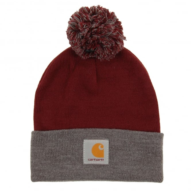 Carhartt Britt Beanie Chianti Dark Grey Heather