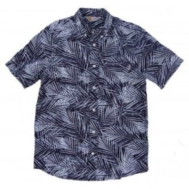 Cayman Shirt Palm Print Paper