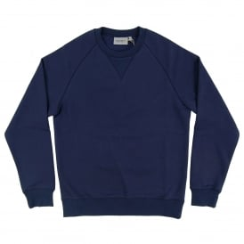 Chase Sweatshirt 13oz Blue Gold