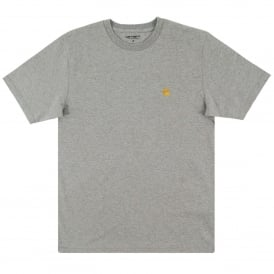 Chase T-Shirt Grey Heather Gold