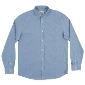 Civil Chambray Shirt Hayward Glacier