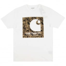Collage T-Shirt White