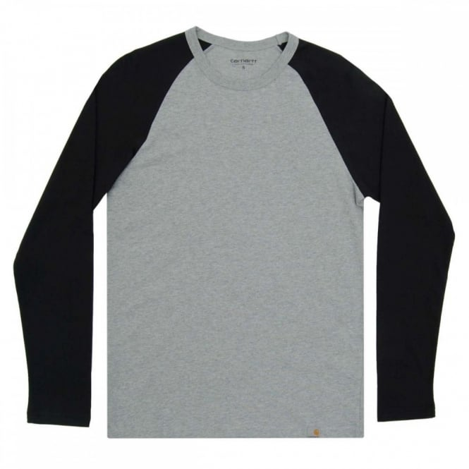 Carhartt Dodgers T-Shirt Grey Heather Black