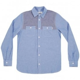 Harrison Chambray Shirt Columbia Duke Blue