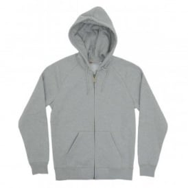Hooded Chase Jacket 13oz Grey Heather