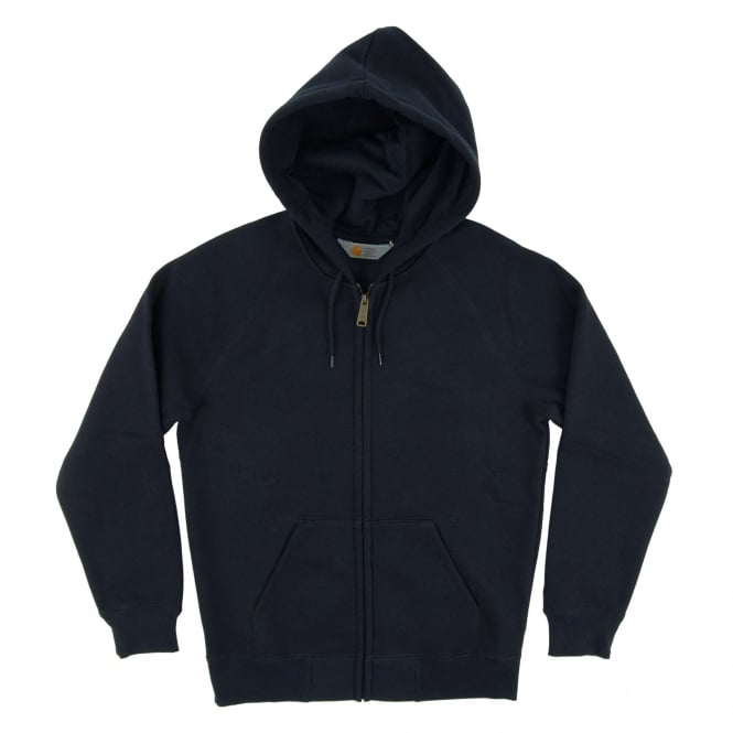 Carhartt Hooded Chase Jacket 13oz Navy