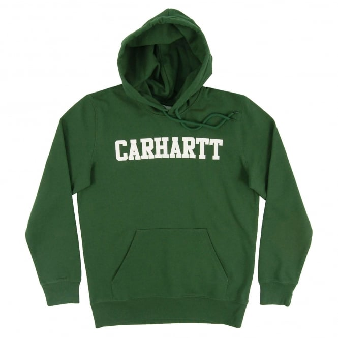 Carhartt Hooded College Sweat Fir White