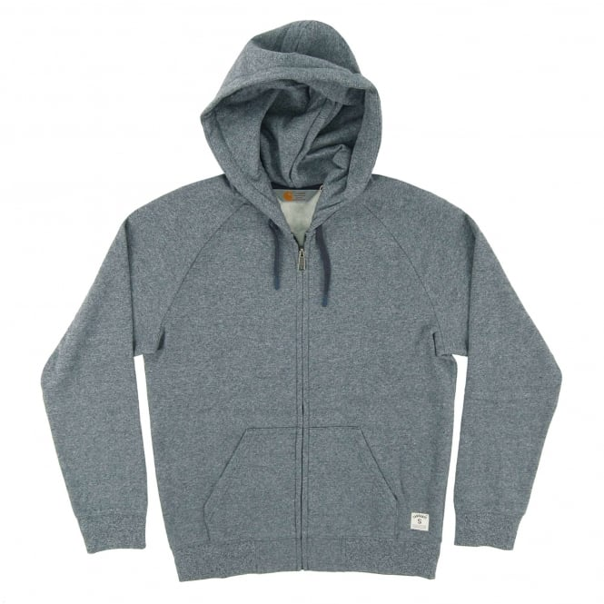 Carhartt Hooded Holbrook Jacket Navy Noise Heather