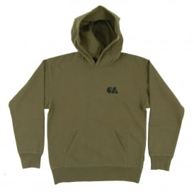 Hooded Military Training Sweat Rover Green Black