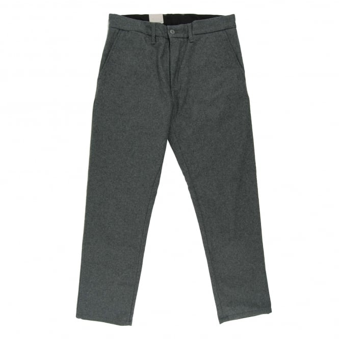 Carhartt Johnson Pant Virgin Wool Southbury Dark Grey Heather
