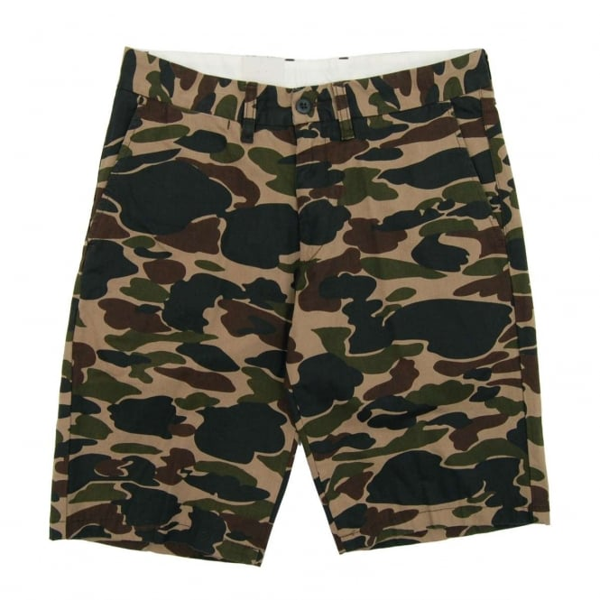 Carhartt Johnson Shorts Dexter Camo Isle