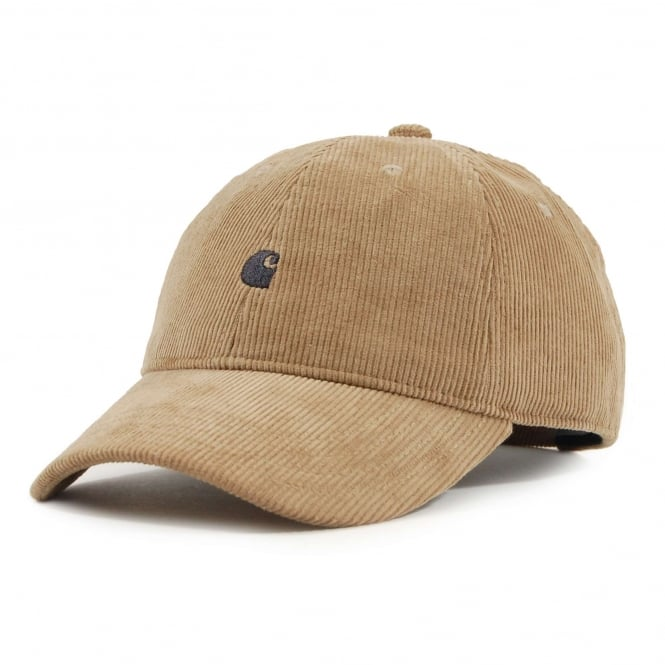 Carhartt Madison Cord Cap Leather Navy