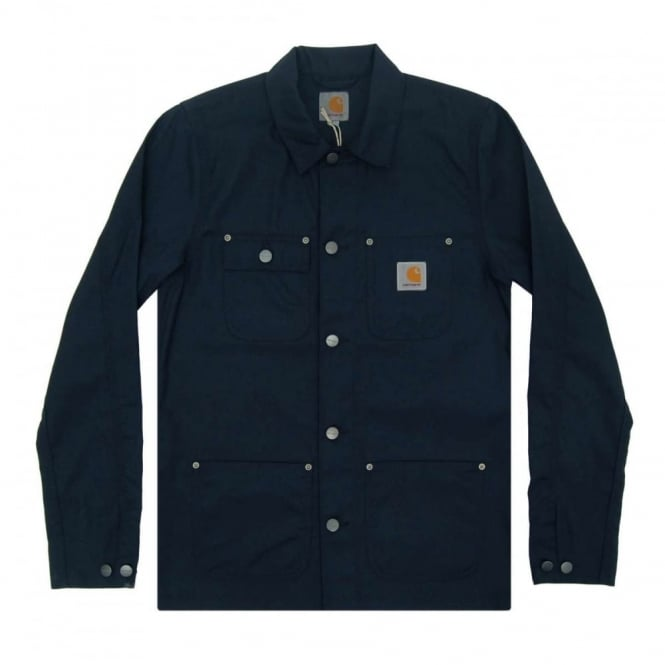 Carhartt Michigan Chore Coat Tillman Dark Navy