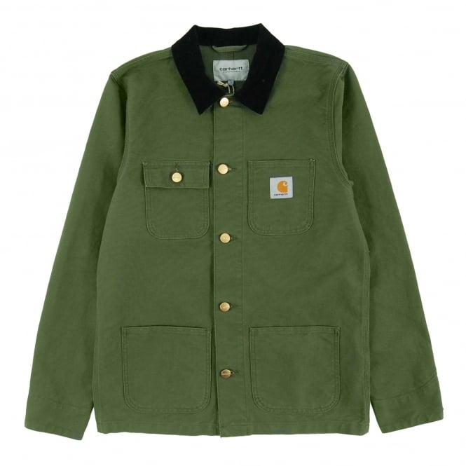 Carhartt Michigan Chore Coat Turner Rover Green