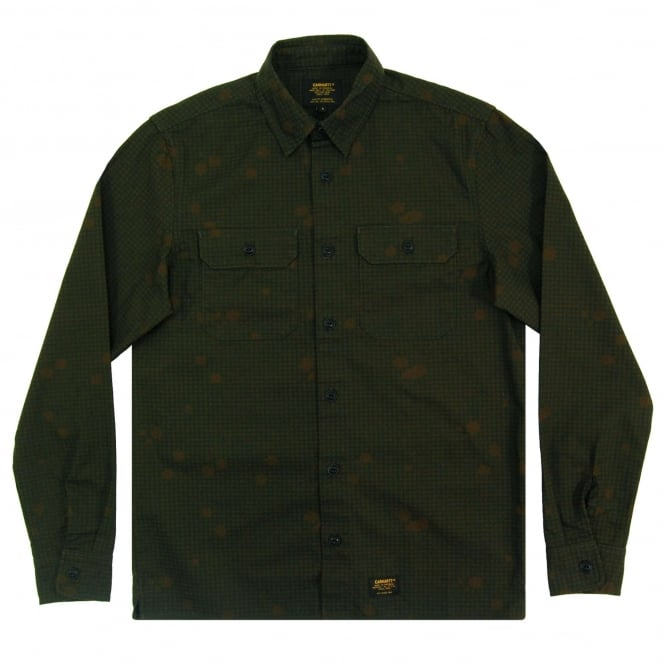 Carhartt Mission Shirt Camo Night Combat Green