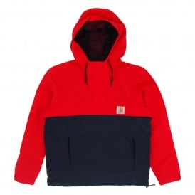 Nimbus Two Tone Pullover Jacket Goji Dark Navy