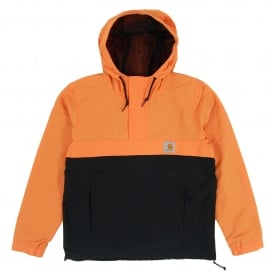 Nimbus Two Tone Pullover Jacket Jaffa Black