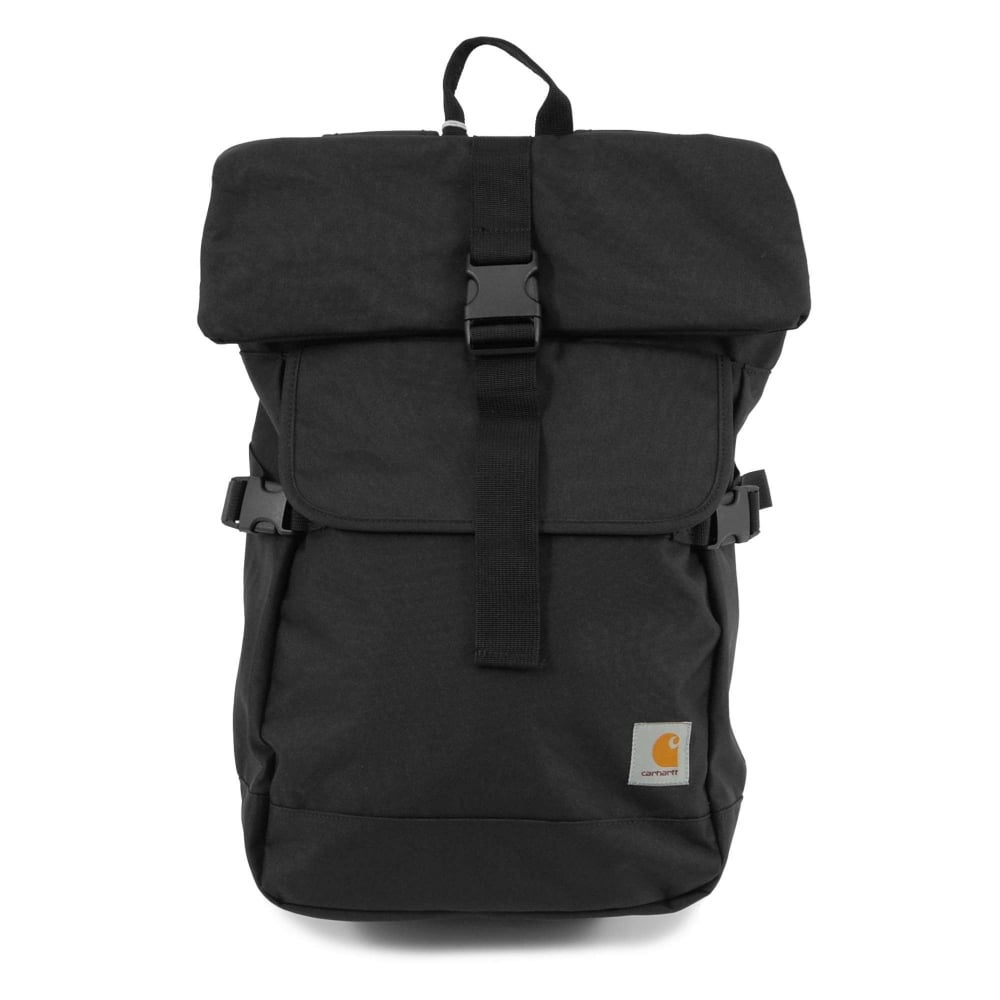 Carhartt Philips Backpack Black - Mens Clothing from Attic Clothing UK