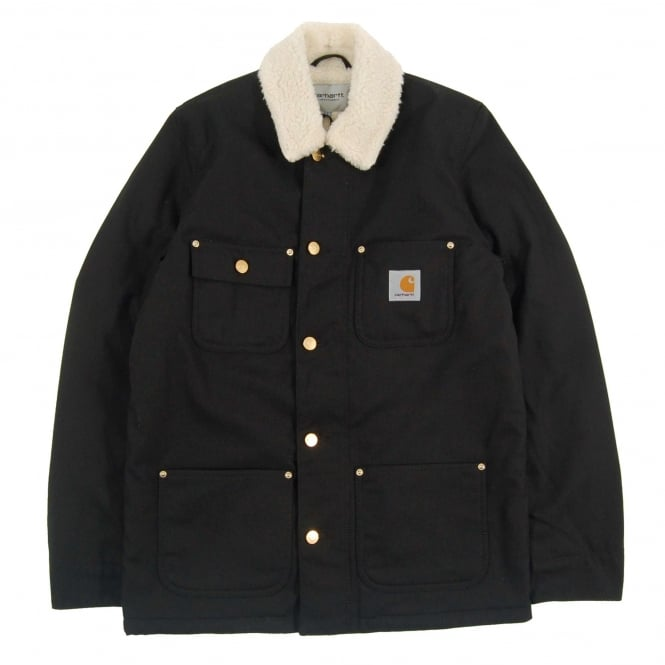 Carhartt Phoenix Coat Patterson Black