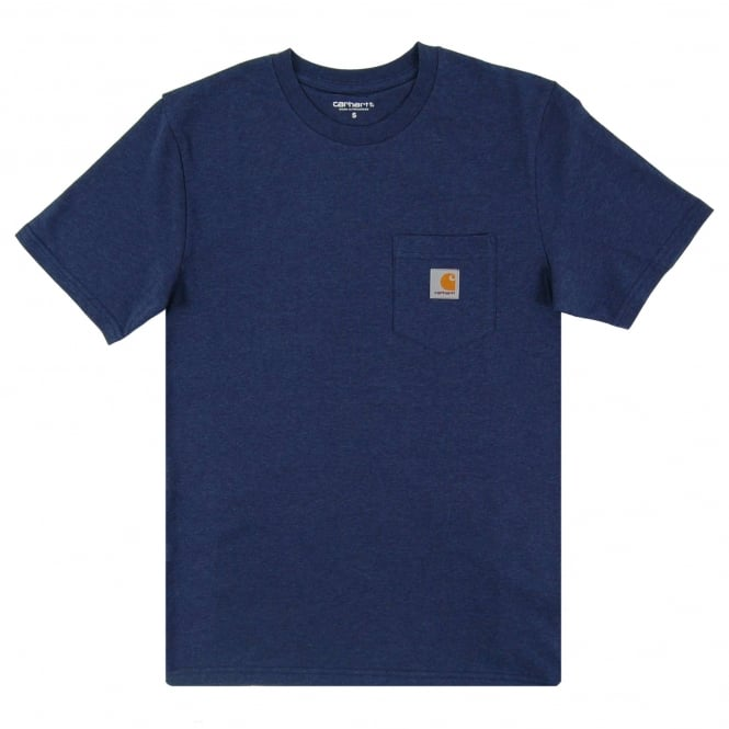 Carhartt Pocket T-Shirt Blue Heather