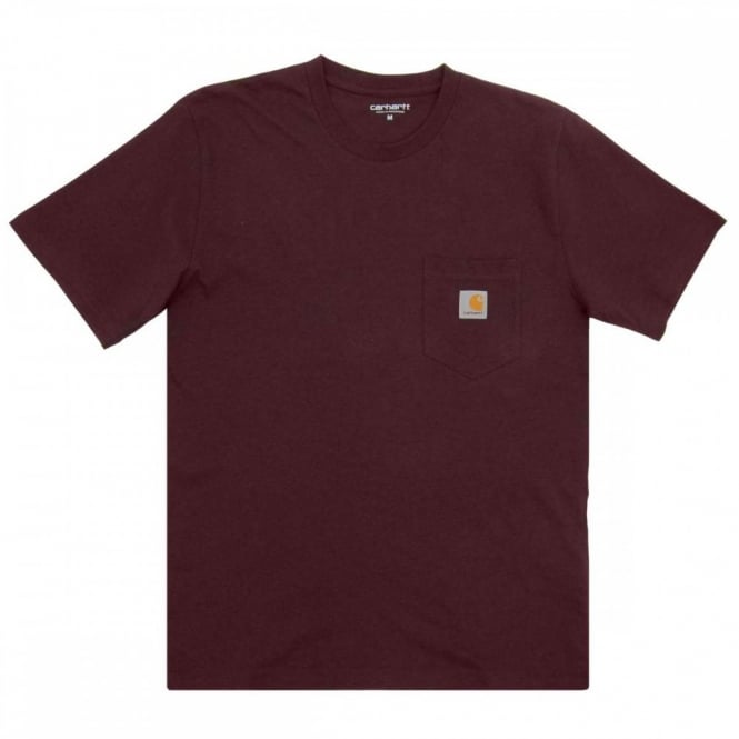 Carhartt Pocket T-Shirt Damson Heather