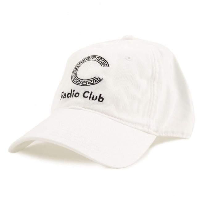 Carhartt Radio Club Logo Cap White Black