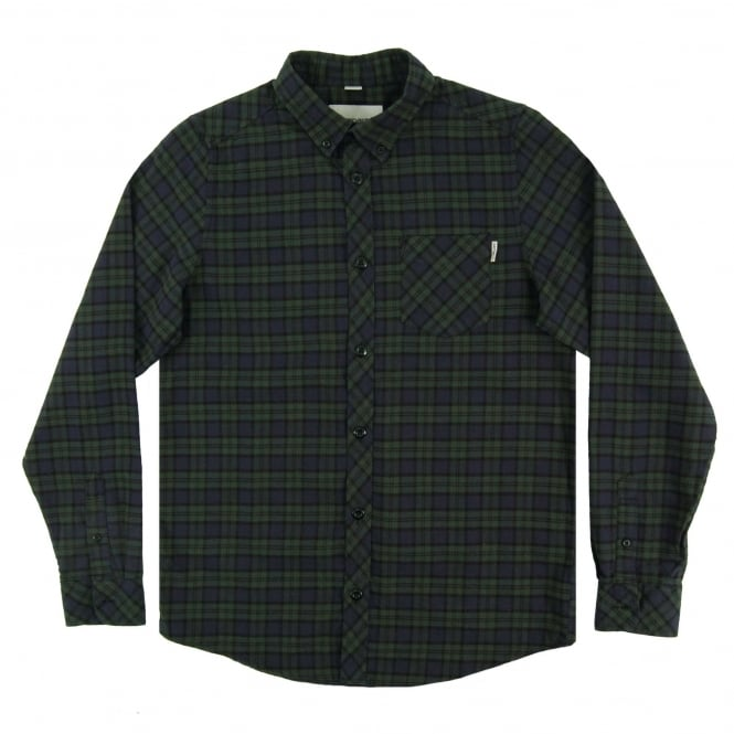 Carhartt Shawn Check Shirt Conifer