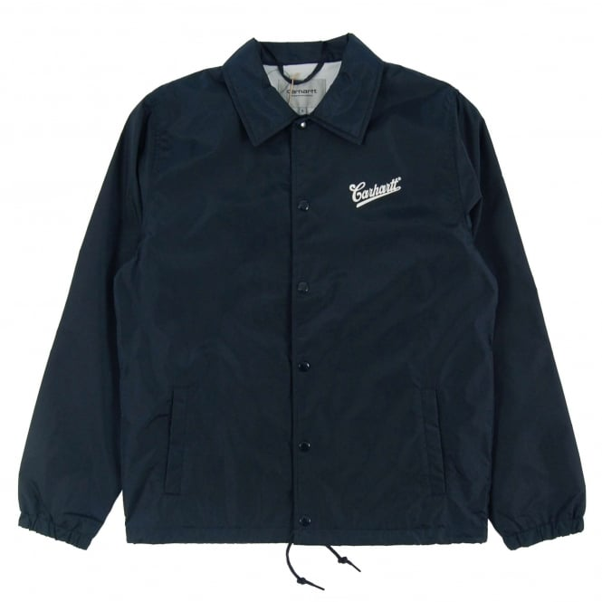 Carhartt Strike Coach Jacket Navy