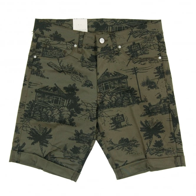 Carhartt Swell Short Wichita Leaf Homerun Solid Print