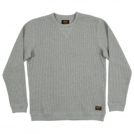 Truman Waffle Sweat Grey Heather