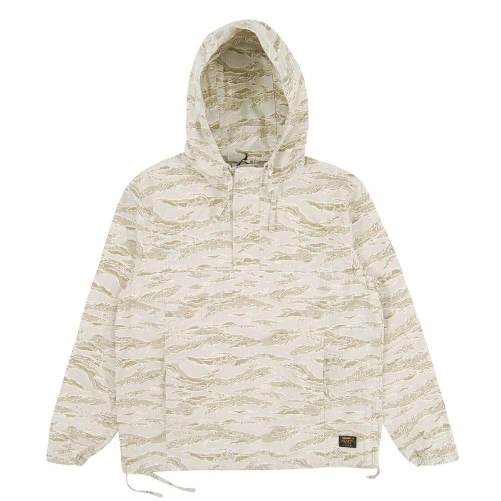 size 40 9d063 87e67 Carhartt Vega Pullover Jacket Camo Tiger Desert