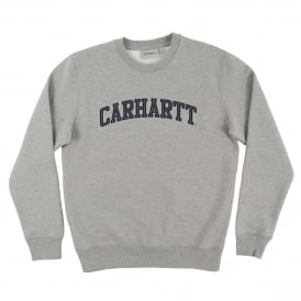 Yale Sweatshirt Grey Heather Navy