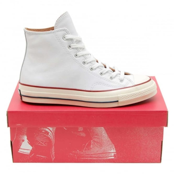 b9468322507 Converse Chuck Taylor 70 s Hi Leather White Egret Nature - Mens Clothing  from Attic Clothing UK