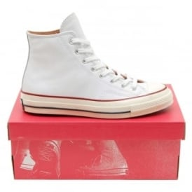 Chuck Taylor 70's Hi Leather White Egret Nature
