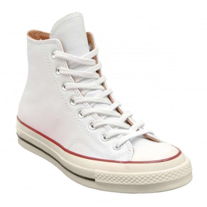 497aa1202c1e Converse Chuck Taylor 70 s Hi Leather White Egret Nature - Mens ...