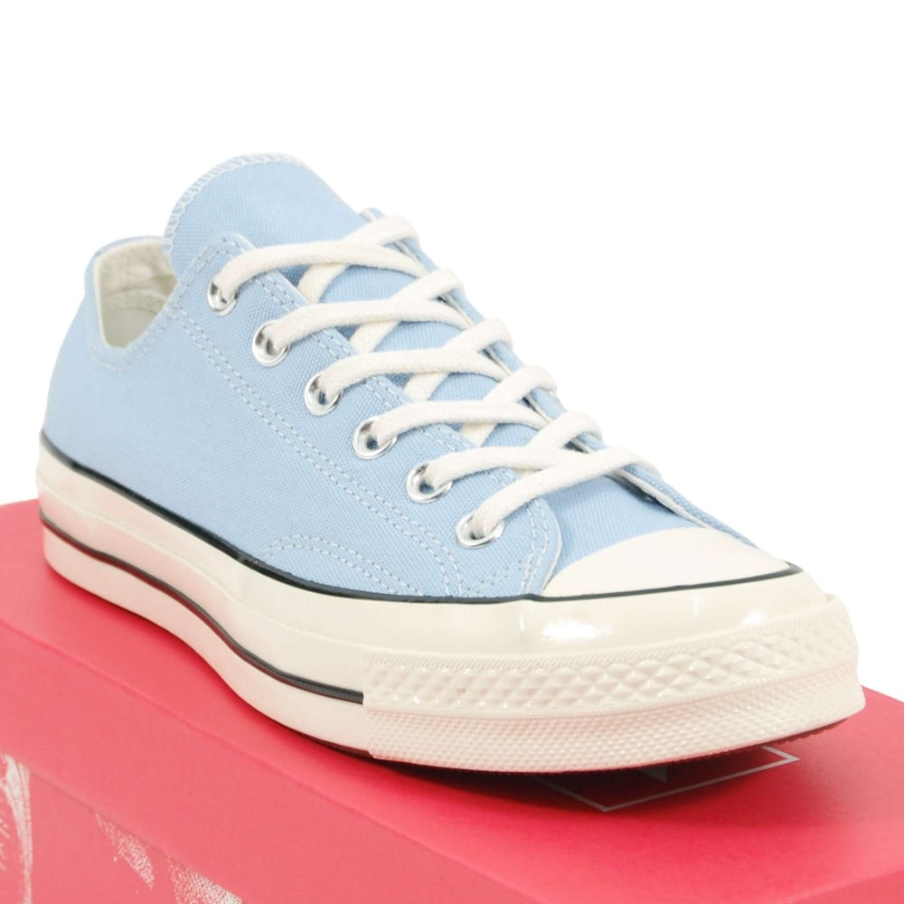 04a170dcd2e0 Converse Chuck Taylor All Star 70 Ox Blue Chill Black Egret - Mens ...