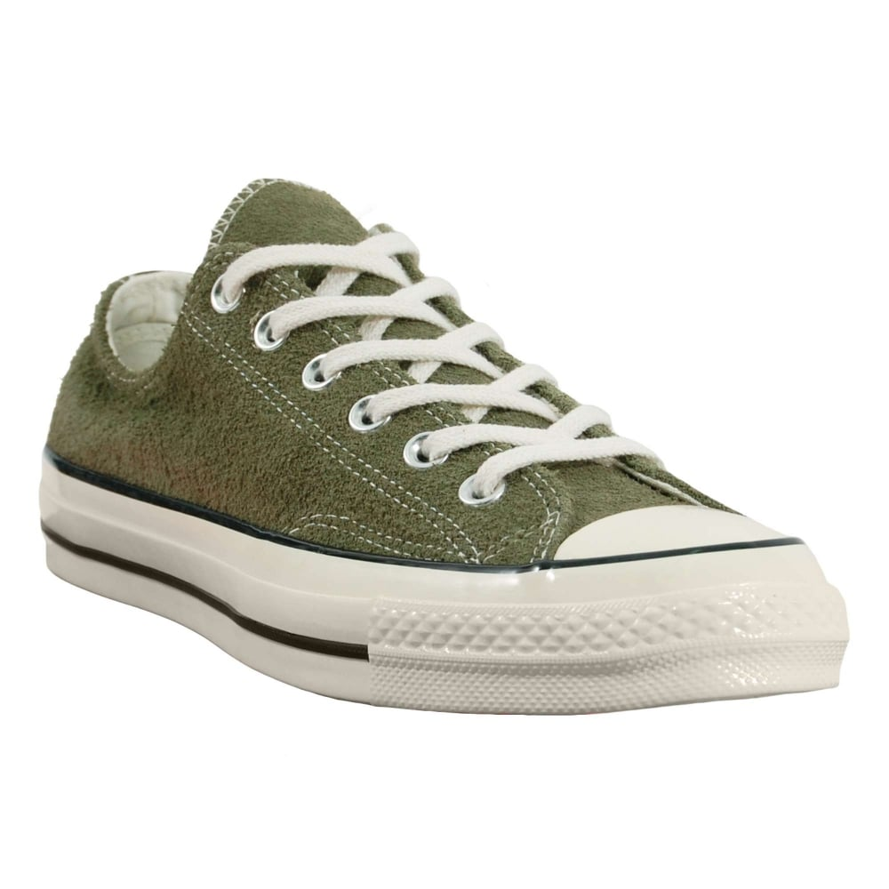 Converse Chuck Taylor All Star 70 Ox Vintage Suede Medium Olive Egret