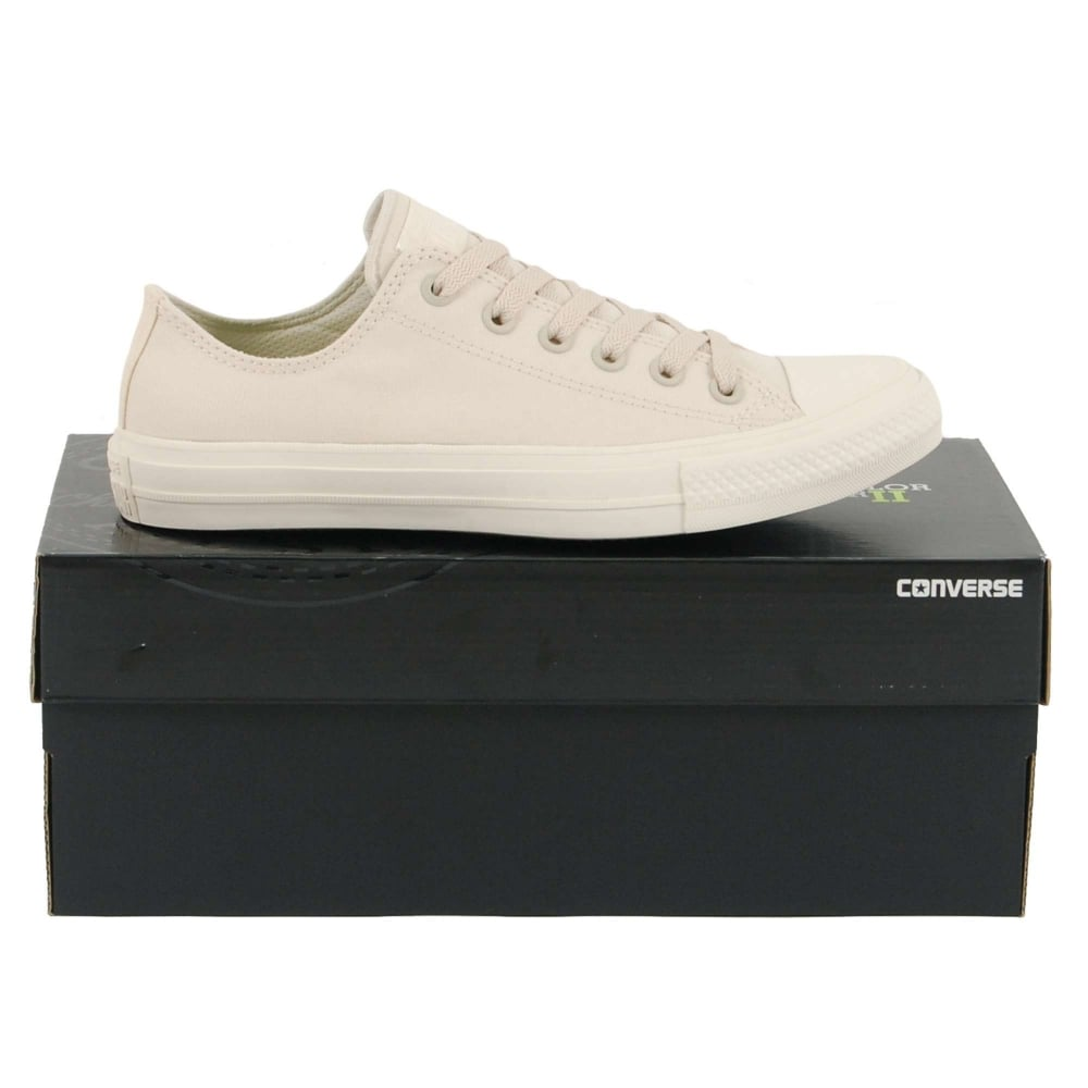 fa313dc8519e Converse Chuck Taylor All Star II Ox Parchment White - Mens Clothing ...