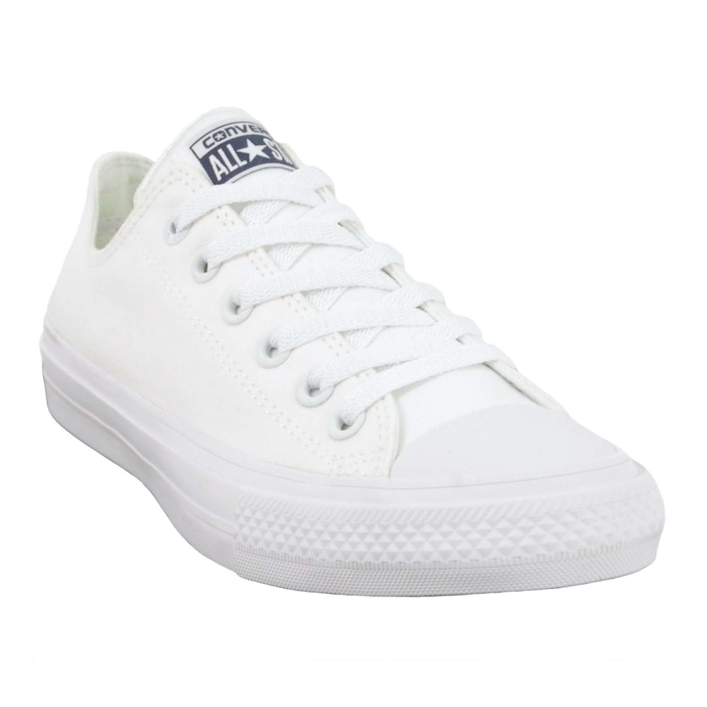083ed76ec309 Converse Chuck Taylor All Star II Ox White White Navy - Mens ...