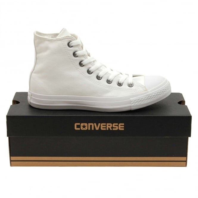 Converse Chuck Taylor All Star Mono Canvas Hi White Monochrome