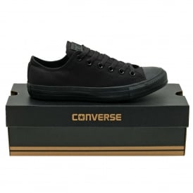 Chuck Taylor All Star Mono Canvas Ox Black Monochrome