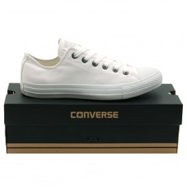 Chuck Taylor All Star Mono Canvas Ox White Monochrome