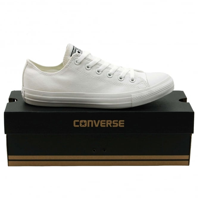 Converse Chuck Taylor All Star Mono Ox Canvas White Monochrome