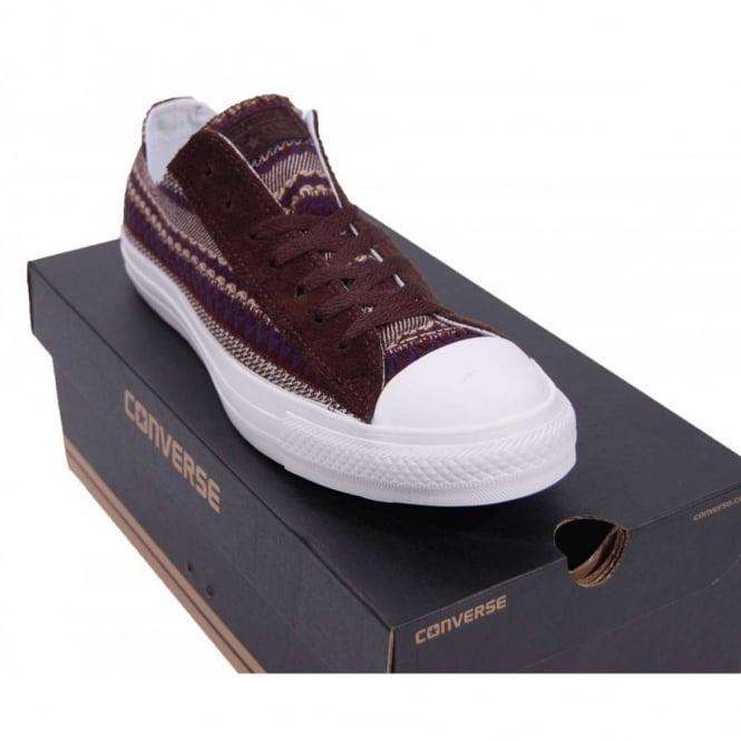 552ebe17befd Converse Chuck Taylor All Star Ox Chocolate Native - Mens Clothing ...
